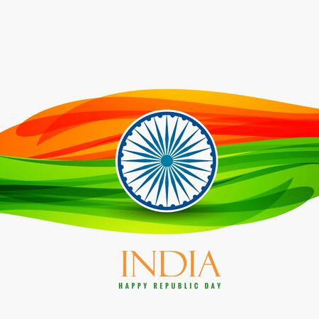 day: republic day of india Illustration