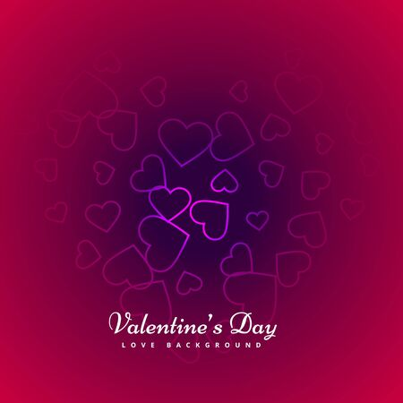 day: valentines day background design Illustration