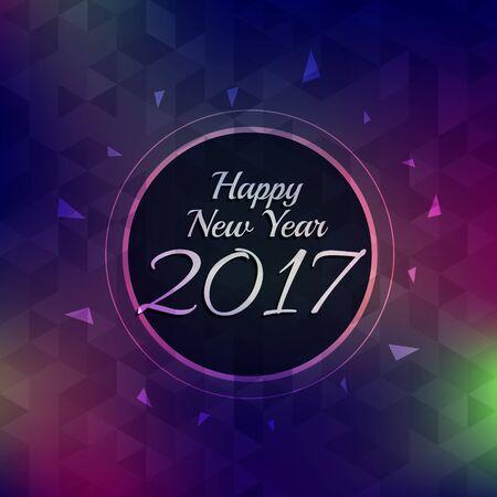 new year celebration: new year 2017 celebration background Illustration