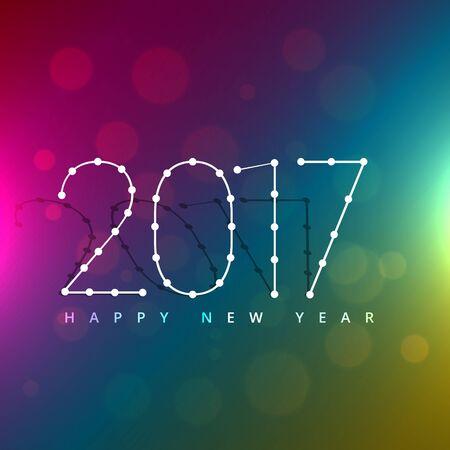 new year celebration: 2017 new year celebration background