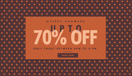 amazing sale and discount banner template with offer details