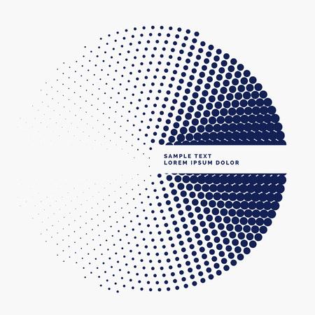 tone: stylish halftone circle background design