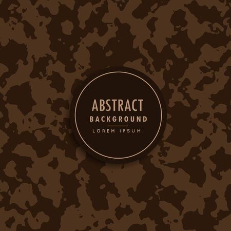 millitary: abstract camouflage pattern in brown shade