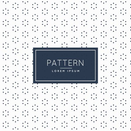 minimal: stylish minimal flower pattern background Illustration