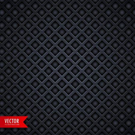 holes: stylish metal texture dark background with diamond shape holes