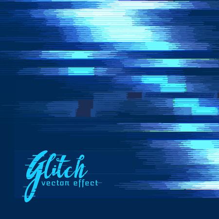 distort: digital glitch vector effect background