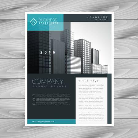 design: stylish modern brochure design template