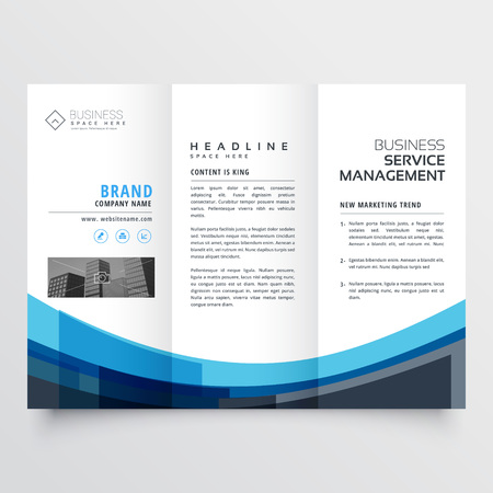 creative trifold brochure design for your business