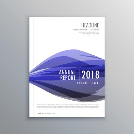 magazine template: creative brochure flyer magazine cover design template
