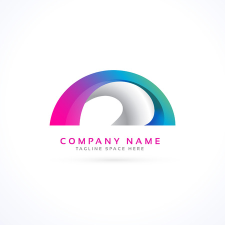 forme: abstract shape logo concept