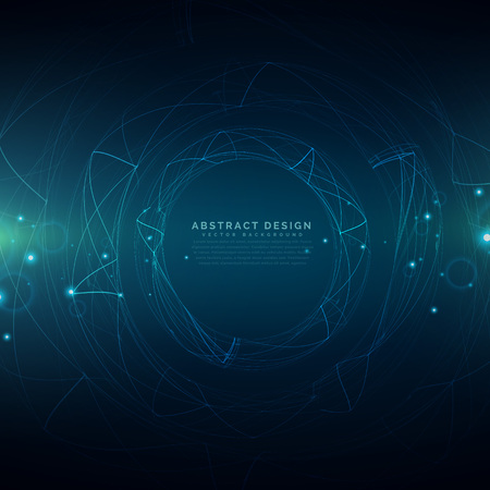 technology abstract background: abstract futuristic technology mesh background Illustration