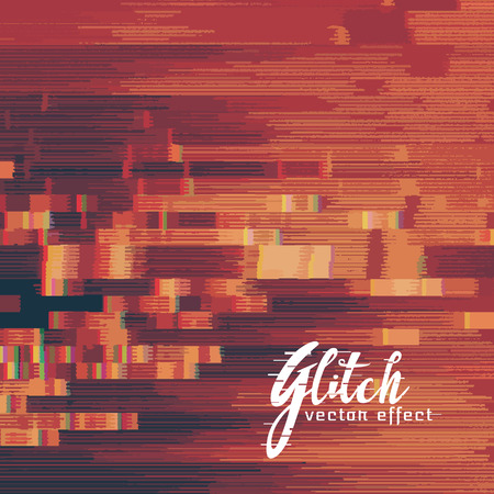 currupted glitch image vector background