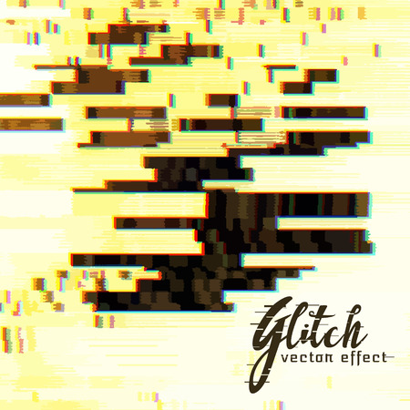 distort: abstract vector glitch vector background Illustration