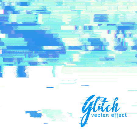 distort: Image glitch vector background