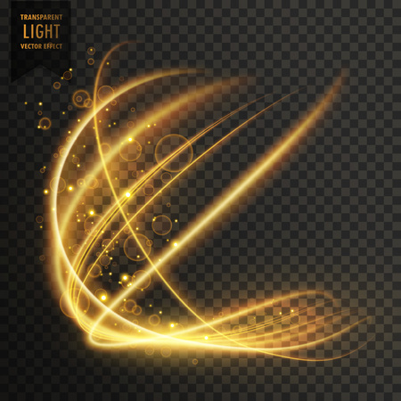 dazzle: transparent golden light effect sparkling background