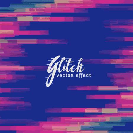 display problem: monitor glitch background vector