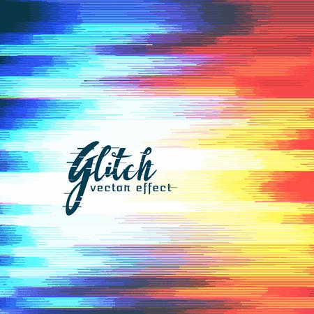distort: abstract glitch distort effect vector