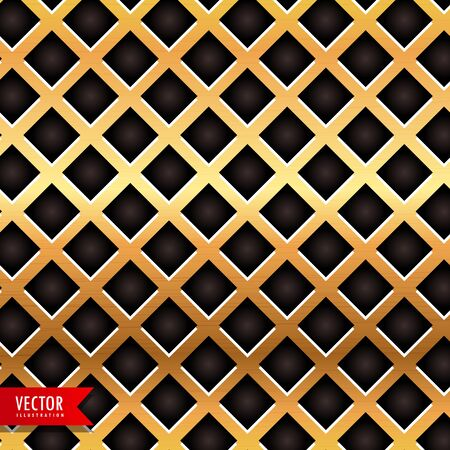 golden metal texture vector background