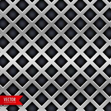 metal texture in diamond shape background