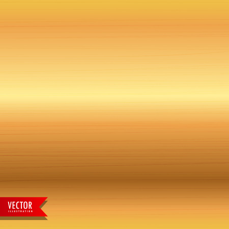 brushed gold metal texture background Illustration