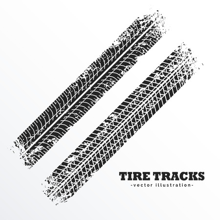wheel tire tracks background design