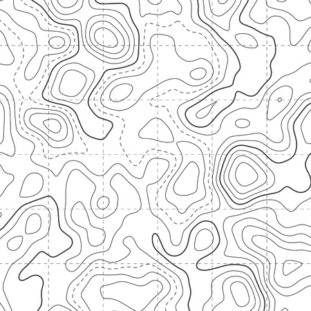 Topographic Map Diagram Pattern Background Royalty Free Cliparts