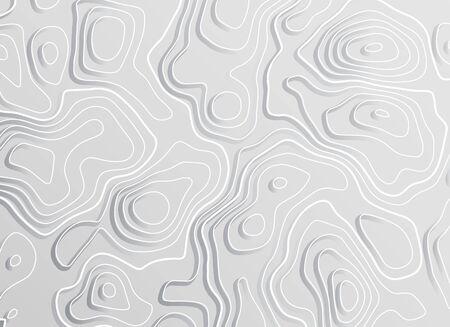 3d topographic map contour elevation concept background.