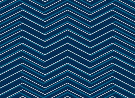 Blue chevron sashiko pattern background in zigzag style 写真素材 - 95251079