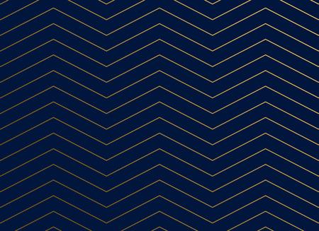 濃い青のシェブロンジグザグパターンの背景