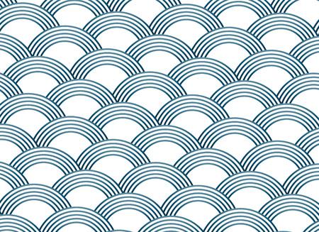 abstract sashiko style vector pattern 写真素材 - 95190361
