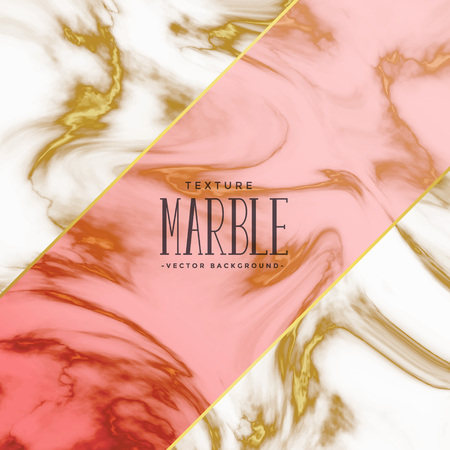 marble texture background design template Illustration