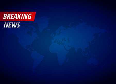 Breaking news background with text space Vectores
