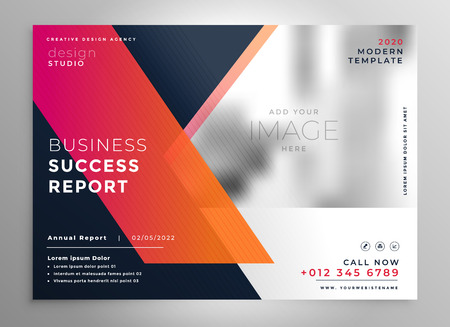creative business flyer design template