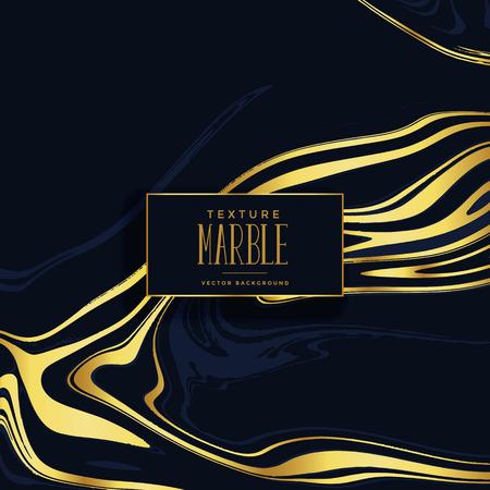 premium black and golden marble texture background