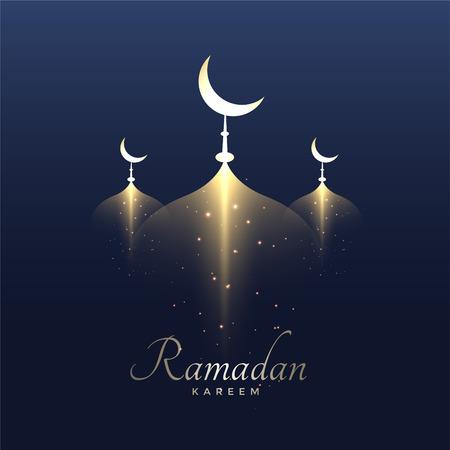 Awesome ramadan kareem design background