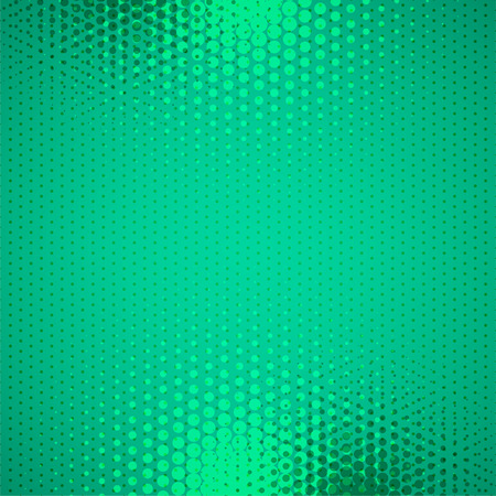 halftone background in comic pop style Illustration