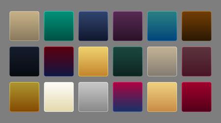 collection of premium luxury gradient background