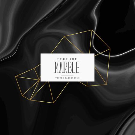 dark silky black marble texture background Illustration