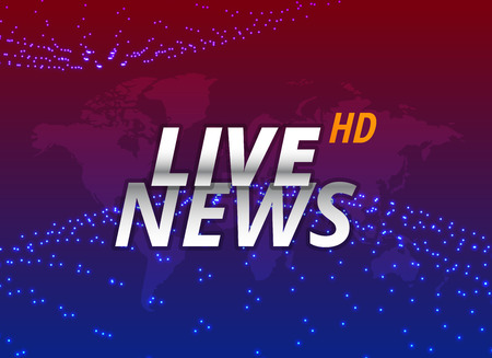 live news background concept design