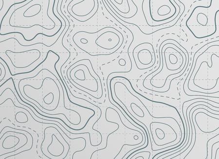 topographic contour line map background
