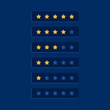 blue star rating symbol design Banque d'images - 114937426