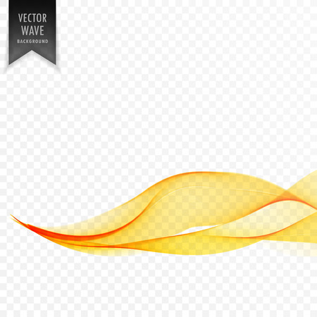 eleant yellow wave abstract background Ilustrace