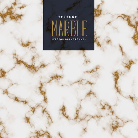 premium marble texture with golden pattern Ilustrace