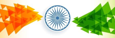 creative indian flag banner design