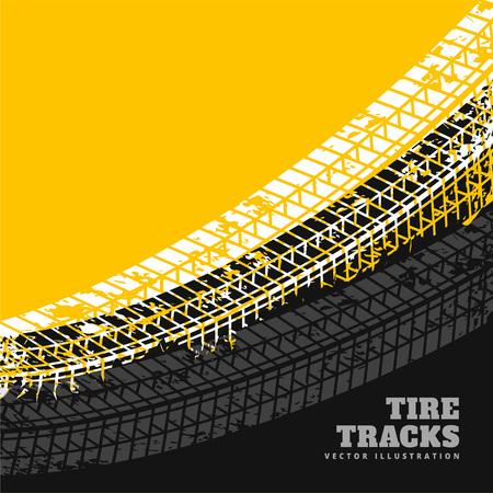 grunge tire marks background design