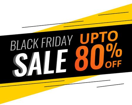 abstracte moderne zwarte vrijdag korting en verkoop banner