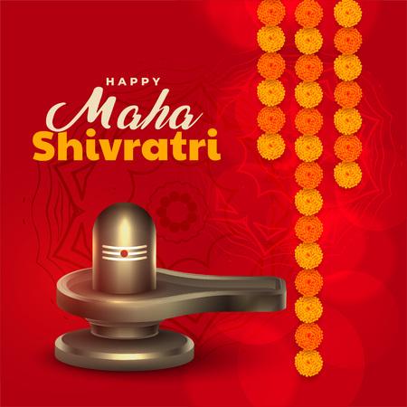 shivling illustration for maha shivratri festival
