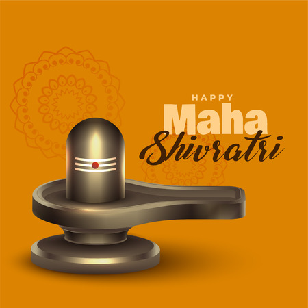 realistic lord shiva shivling idol for maha shivratri festival