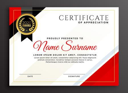 elegant diploma certificate template design