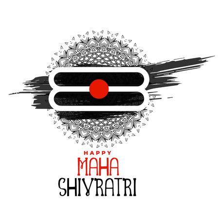 maha shivratri hindu religious festival background